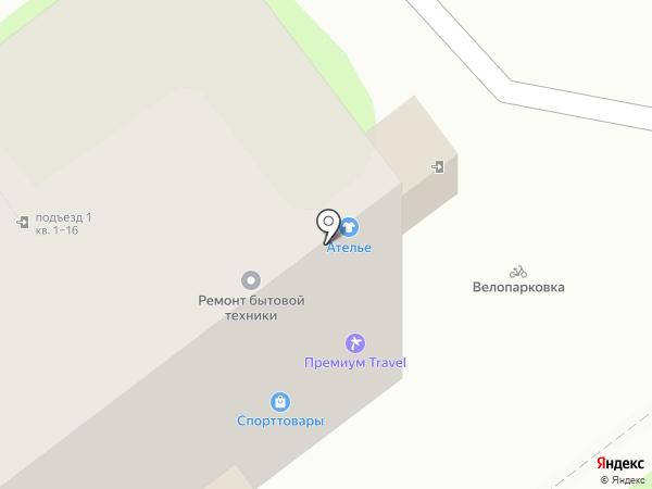 Под Ключ на карте Нижнего Новгорода