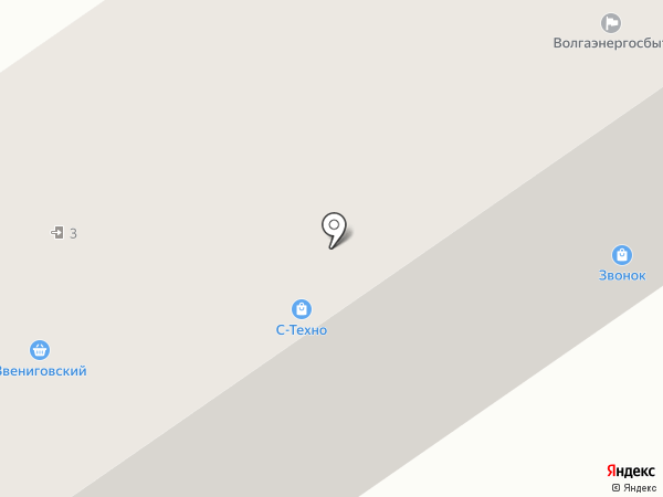 Победа на карте Нижнего Новгорода