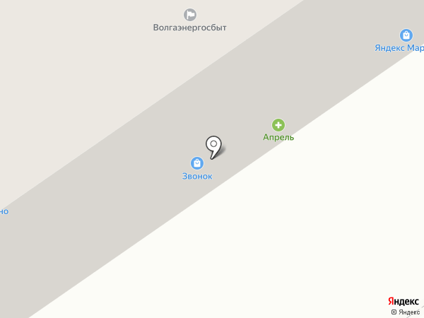 Звонок на карте Нижнего Новгорода