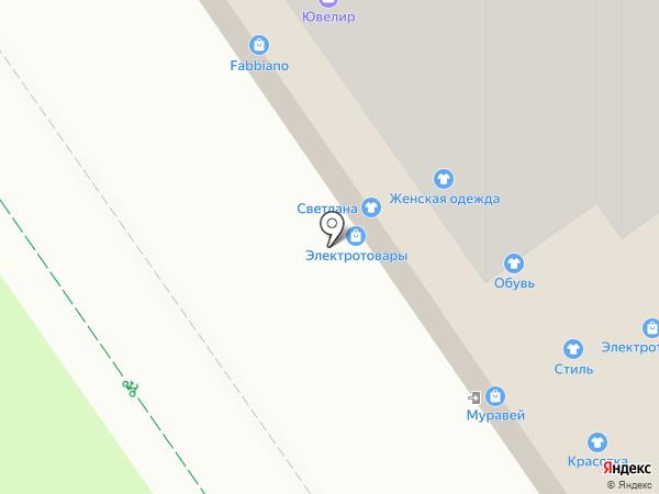 Валерия на карте Нижнего Новгорода