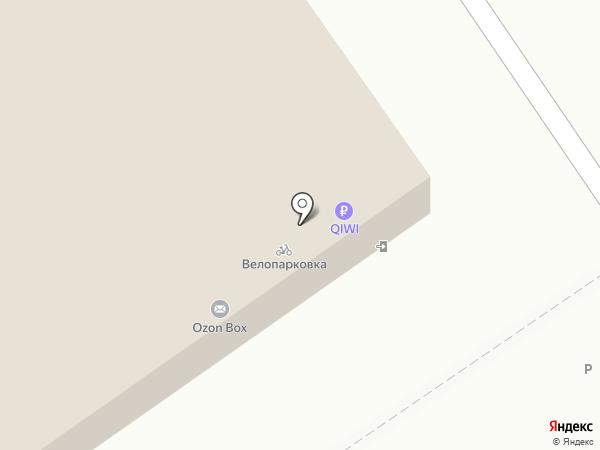Свободная касса на карте Нижнего Новгорода