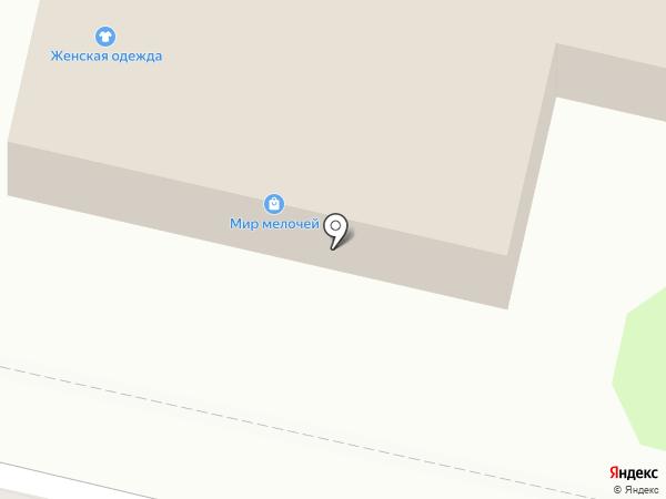 Магазин трикотажа и штор на карте Нижнего Новгорода