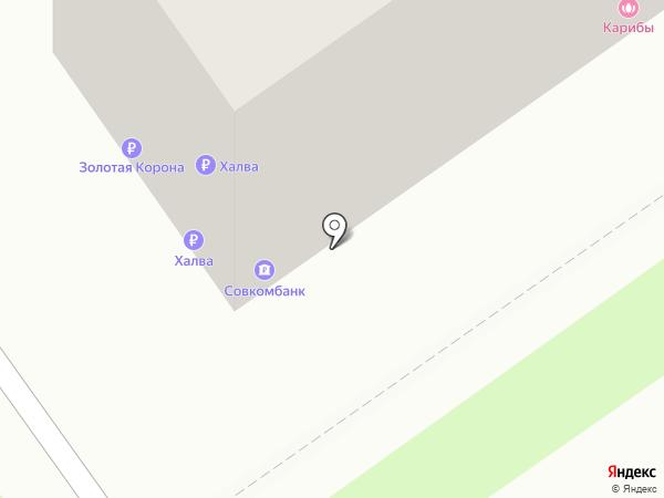 Банкомат, Восточный экспресс банк, ПАО на карте Нижнего Новгорода