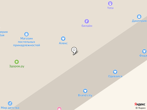 Tele2 на карте Нижнего Новгорода