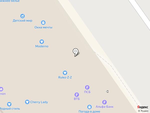 New time на карте Нижнего Новгорода