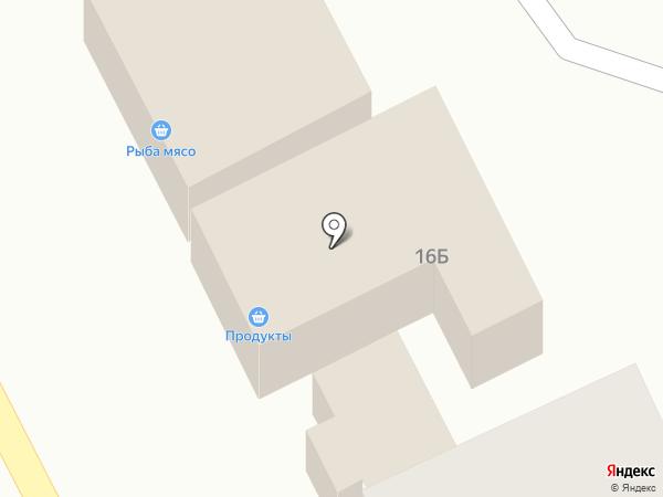 Сеть продуктовых магазинов на карте Новинок
