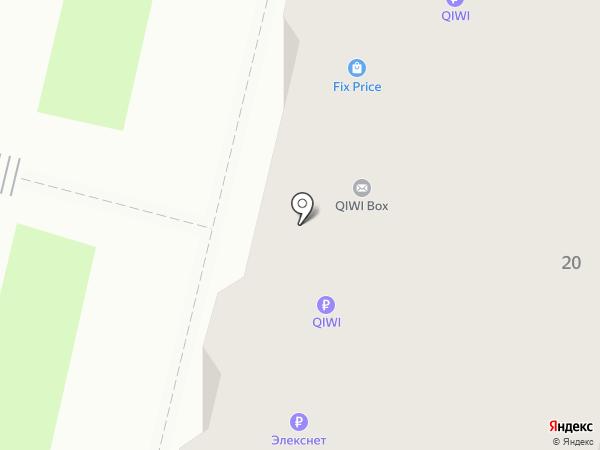 Никола ключ на карте Нижнего Новгорода