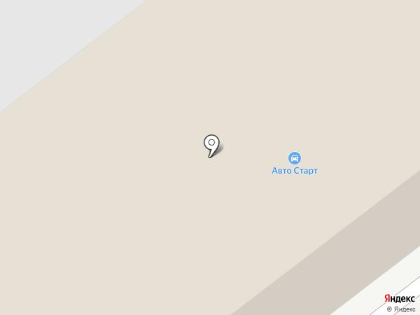 АВТО СТАРТ на карте Нижнего Новгорода