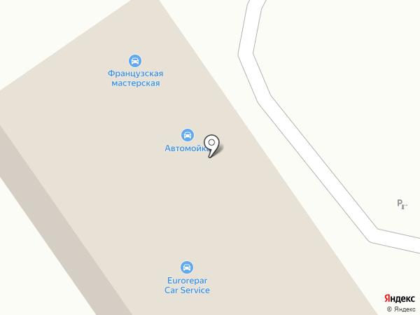 СфераАвто на карте Нижнего Новгорода