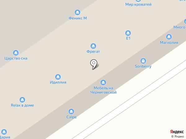 Мебелайт на карте Нижнего Новгорода