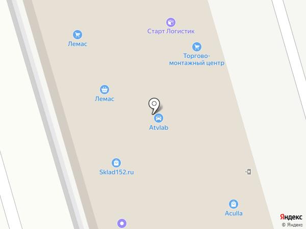 Торгово-монтажный Центр-НН на карте Нижнего Новгорода