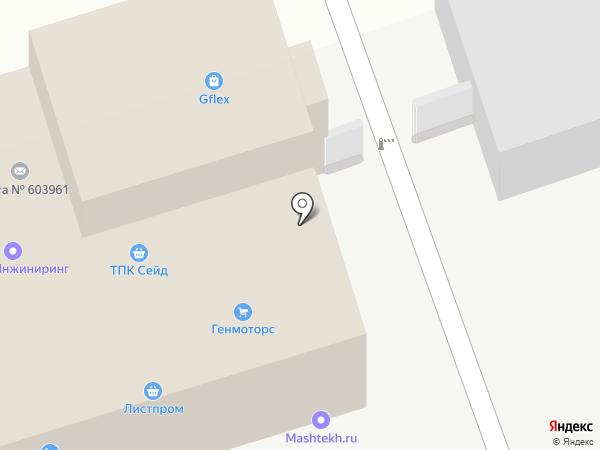 Гарант-Эксперт на карте Нижнего Новгорода