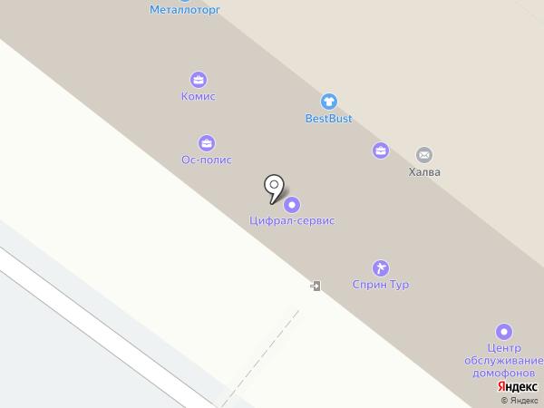 OZON.ru на карте Нижнего Новгорода