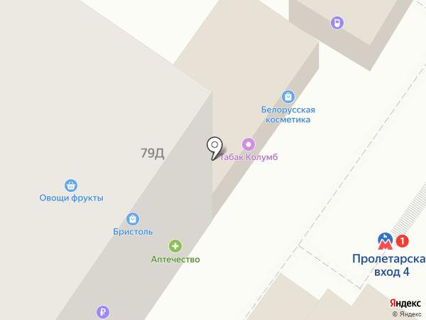 Магазин цветов и игрушек на карте Нижнего Новгорода