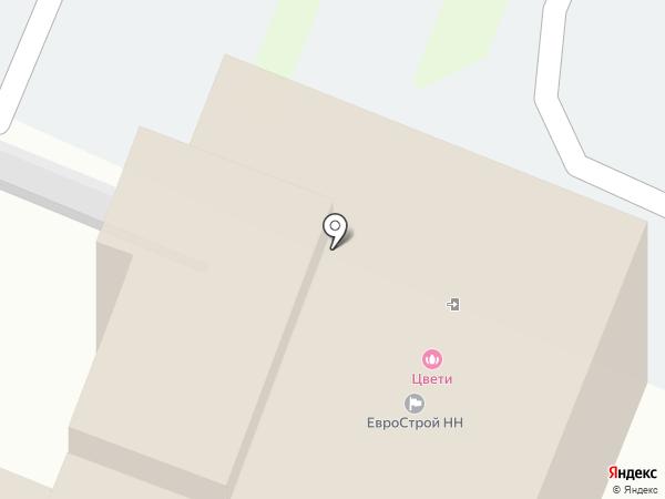 Accent на карте Нижнего Новгорода