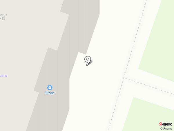 Пан РАЗЛИВАН на карте Нижнего Новгорода