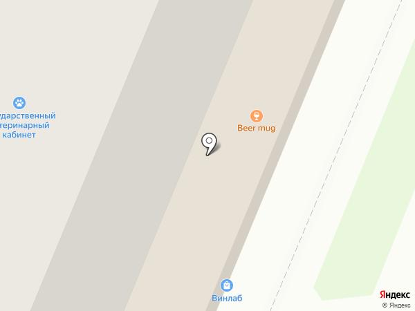 Aquanet на карте Нижнего Новгорода
