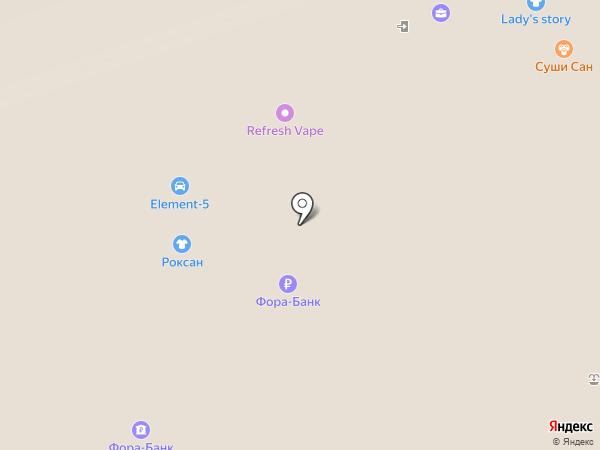 Банкомат, АКБ Фора-банк на карте Нижнего Новгорода