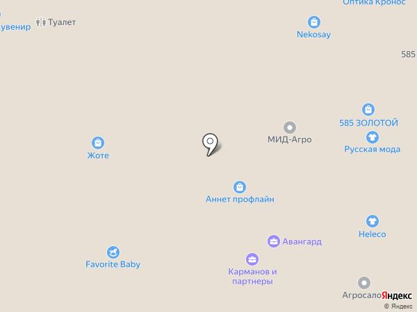 Annet Profline на карте Нижнего Новгорода