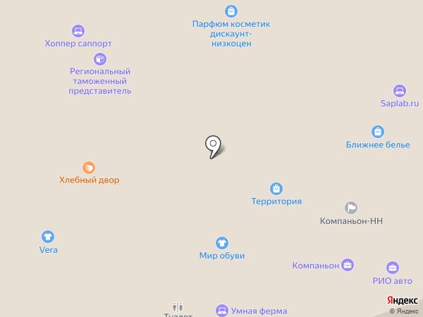 Grundorf на карте Нижнего Новгорода