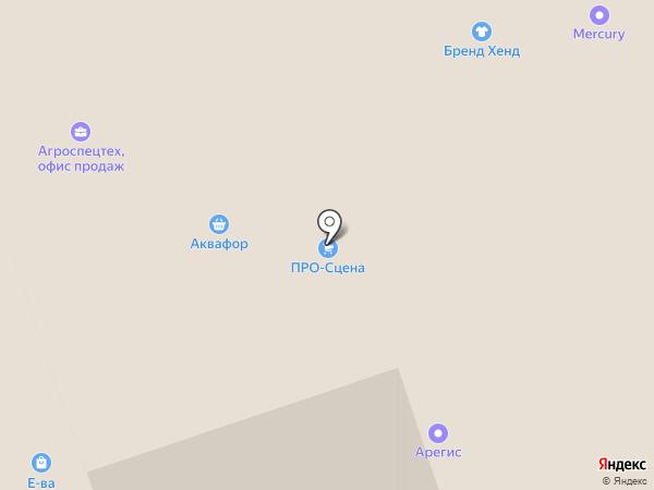 Стройкомплект на карте Нижнего Новгорода