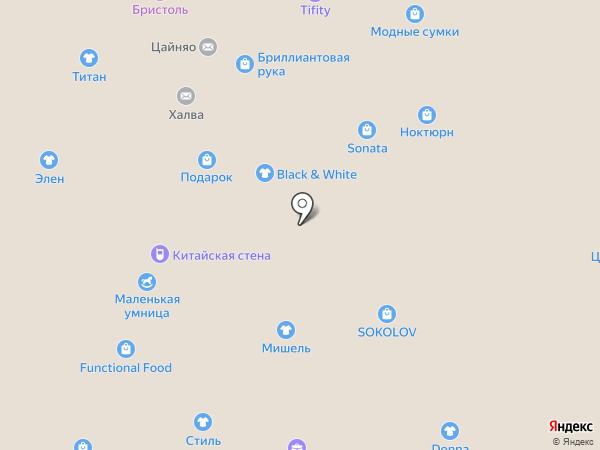 Беатрис на карте Нижнего Новгорода