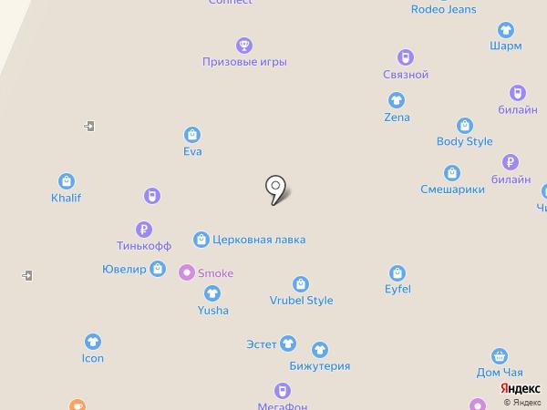 Банкомат, АКБ Связь-банк, ПАО на карте Нижнего Новгорода