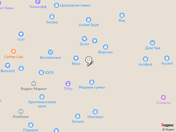 МоDжи на карте Нижнего Новгорода