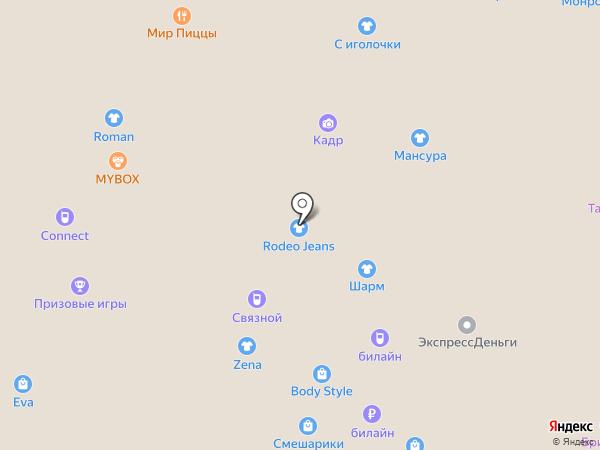 Евросеть на карте Нижнего Новгорода