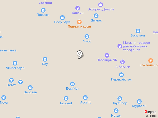 Телеком групп на карте Нижнего Новгорода