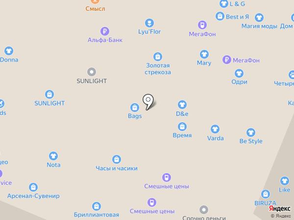 Дом.ru на карте Нижнего Новгорода