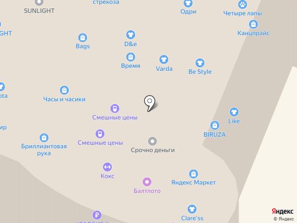К.о.К.с. на карте Нижнего Новгорода