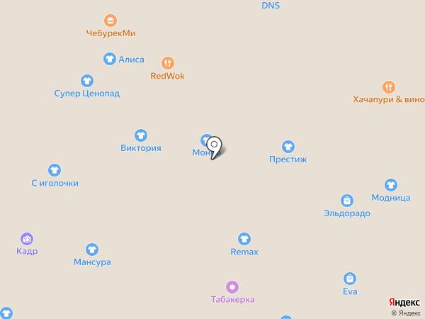 Мансура на карте Нижнего Новгорода