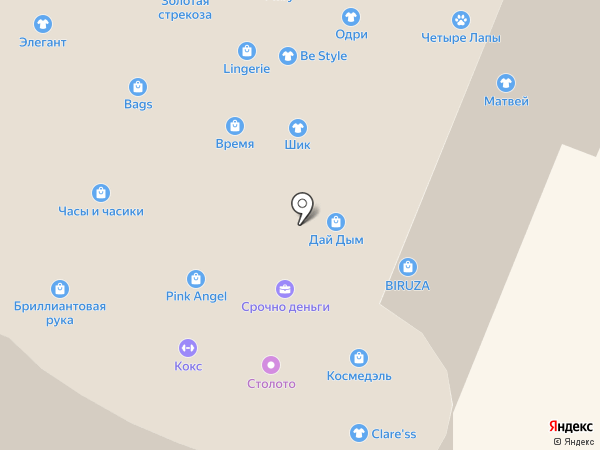 Золотая антилопа на карте Нижнего Новгорода