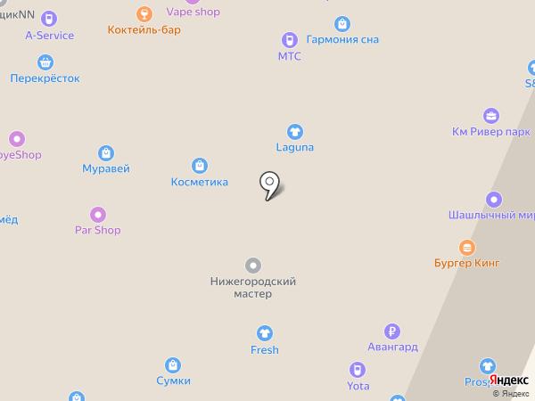 Магазин православных изделий на карте Нижнего Новгорода