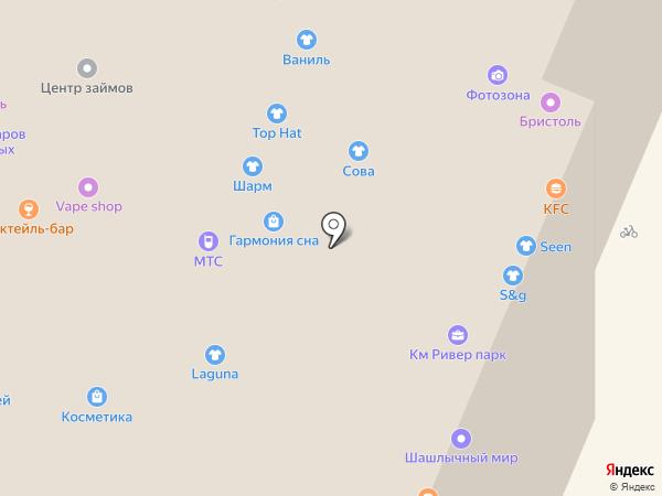 Comepay на карте Нижнего Новгорода