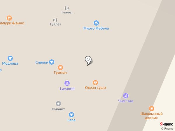 Gurman на карте Нижнего Новгорода