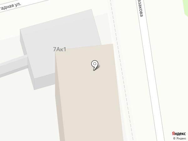Проф-НН на карте Нижнего Новгорода
