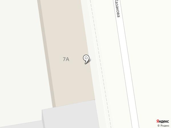 Фэд на карте Нижнего Новгорода