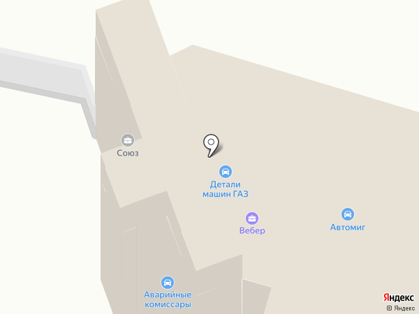 АвтоДевайс на карте Нижнего Новгорода