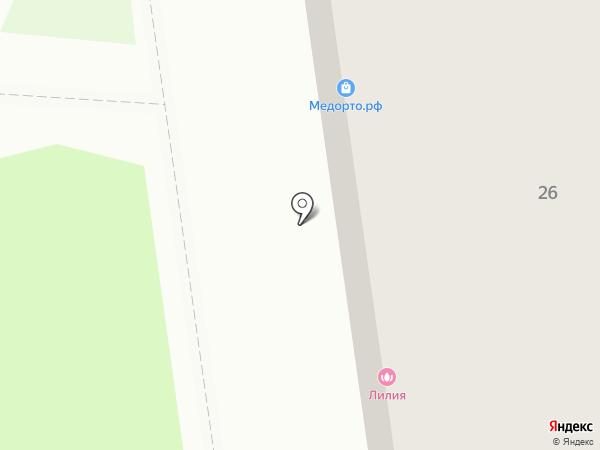 SORDIS на карте Нижнего Новгорода