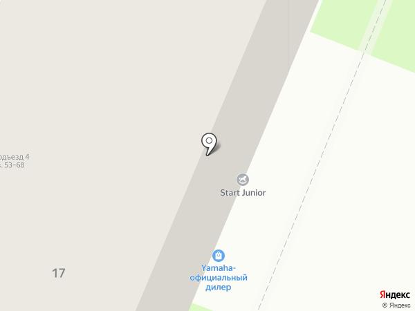 StartJunior на карте Нижнего Новгорода