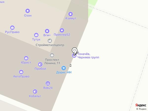 СВАЯЖ на карте Нижнего Новгорода