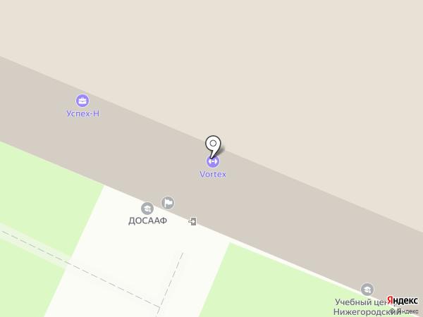 ЭТЮД на карте Нижнего Новгорода