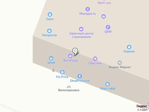 ARGO pro SPORT на карте Нижнего Новгорода