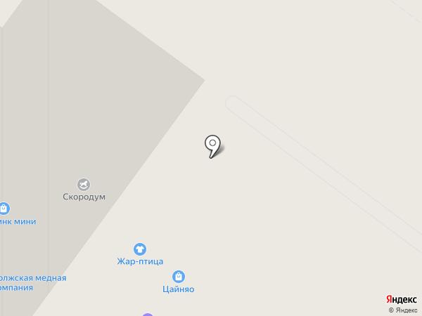 Мега-Строй НН на карте Нижнего Новгорода