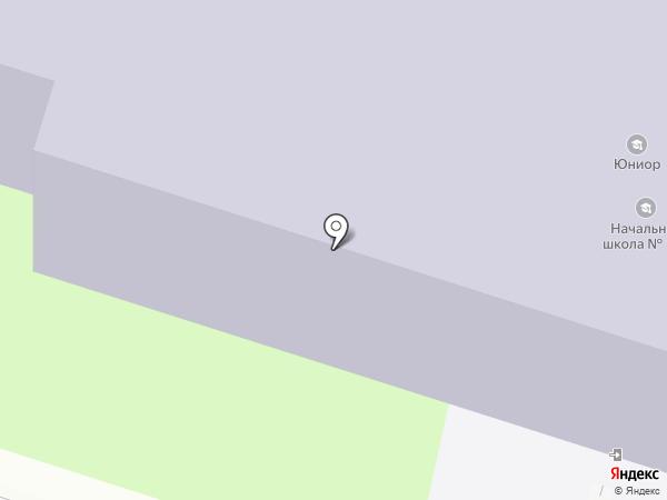 Юниор на карте Нижнего Новгорода