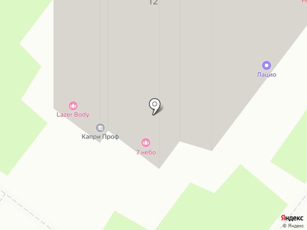 Акконд на карте Нижнего Новгорода