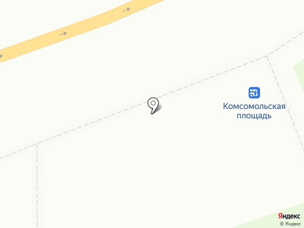 А в Цветочный берег на карте Нижнего Новгорода