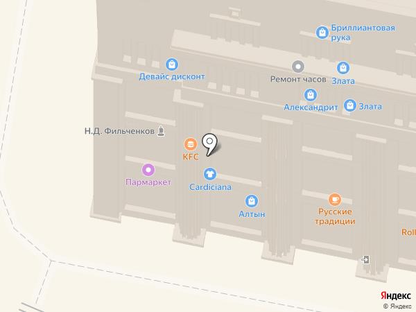 Метелица на карте Нижнего Новгорода